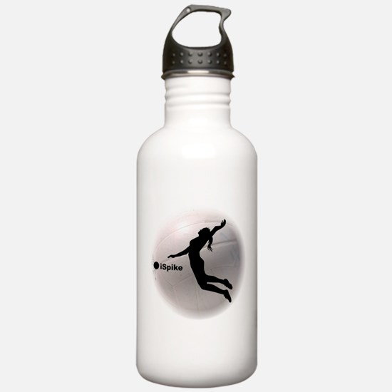 ispike Volleyball Sports Water Bottle