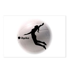 ispike Volleyball Postcards (Package of 8)