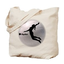 ispike Volleyball Tote Bag