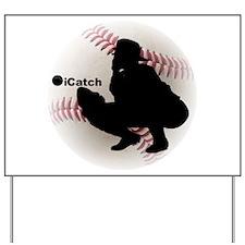 iCatch Baseball Yard Sign