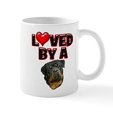 Loved by a Rottweiler 2 Mug