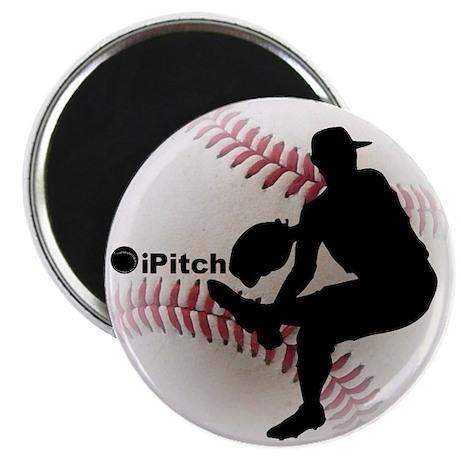 """iPitch Baseball 2.25"""" Magnet (10 pack)"""
