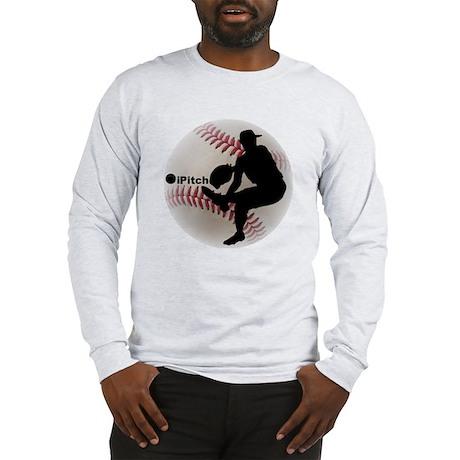 iPitch Baseball Long Sleeve T-Shirt