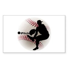 iPitch Baseball Decal