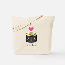 I Love Kim Bap (Korean Sushi) Tote Bag