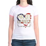 Watch The Game Organic Women's Fitted T-Shirt