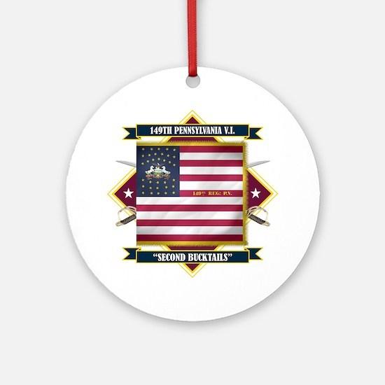 149th Pennsylvania Ornament (Round)