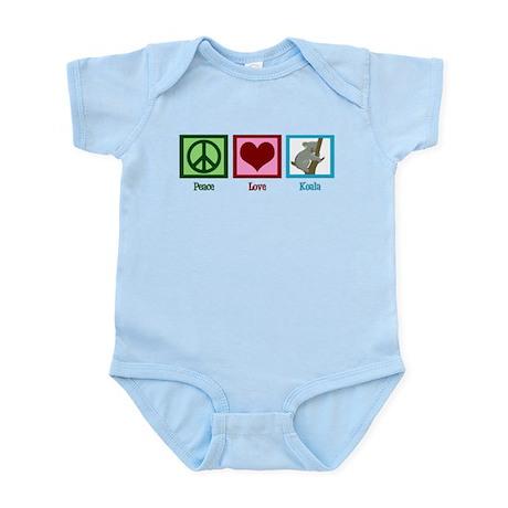 Peace Love Koala Infant Bodysuit
