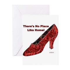No Place Like Home Greeting Cards (Pk of 10)