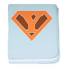 Super Grunge Y baby blanket