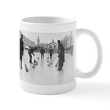 Cute Curling mens Mug