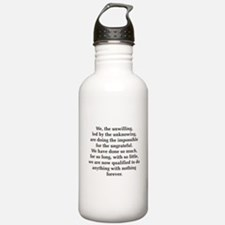 We The Unwilling Sports Water Bottle