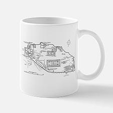 Acropolis Plan Mug