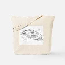 Acropolis Plan Tote Bag