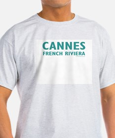 Cannes FR - Ash Grey T-Shirt