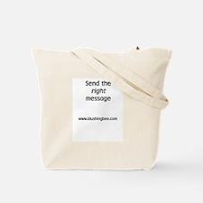 """It's Nice To Be Nice"" Tote Bag"