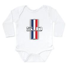 50RWB Long Sleeve Infant Bodysuit