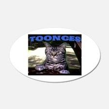 TOONCES 20x12 Oval Wall Peel