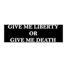 Give Me Liberty 36x11 Wall Peel