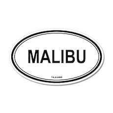 Malibu oval 20x12 Oval Wall Peel