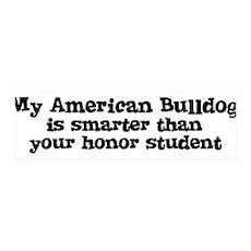 Honor Student: My American Bu 36x11 Wall Peel