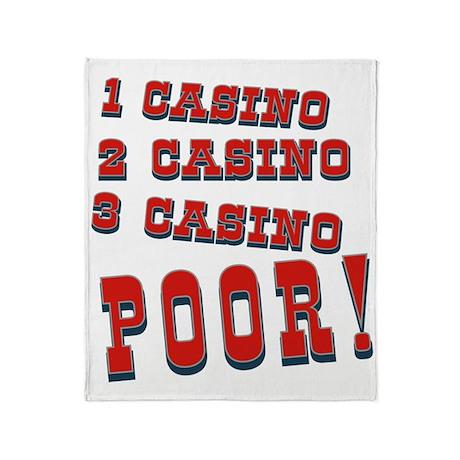 Casino Throw Blanket