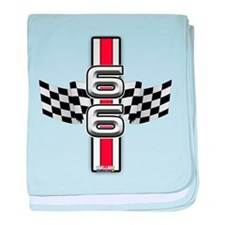 Racer Red baby blanket