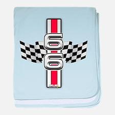 Racer Red baby blanket