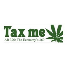 AB 390 Tax me 36x11 Wall Peel