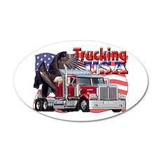 Trucking USA 20x12 Oval Wall Peel