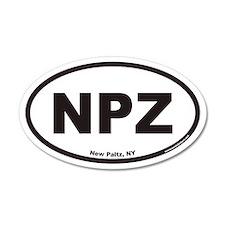 New Paltz NPZ Euro 20x12 Oval Wall Peel