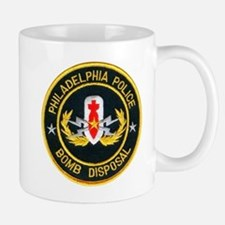 Philadelphia Police Bomb Squa Mug