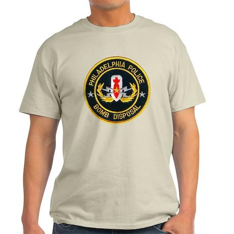 Philadelphia Police Bomb Squa Light T-Shirt