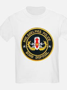 Philadelphia Police Bomb Squa T-Shirt