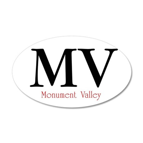Monument Valley 20x12 Oval Wall Peel