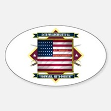 54th Massachusetts Decal