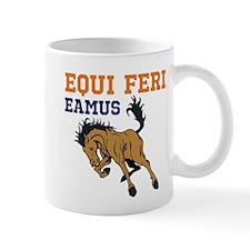 Equi Feri (Broncos) cum pictu Mug