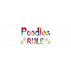 Poodle 36x11 Wall Peel