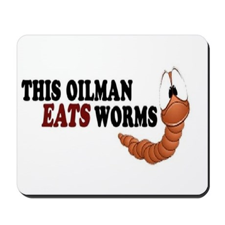 worm Mousepad