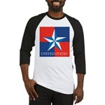 USA Star with 4 Squares Baseball Jersey