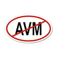 AVM 20x12 Oval Wall Peel