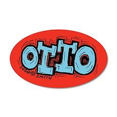 Otto 20x12 Oval Wall Peel