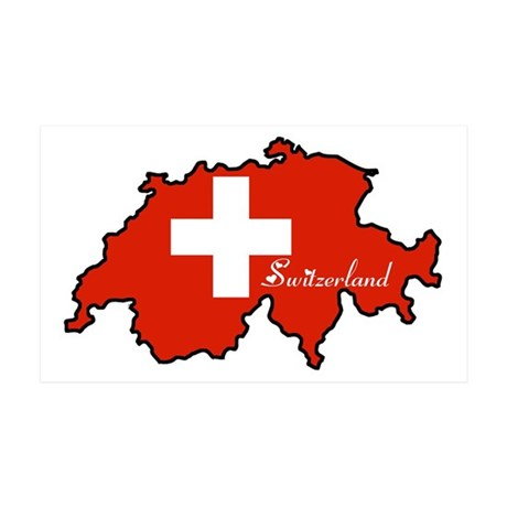 Cool Switzerland 35x21 Wall Peel