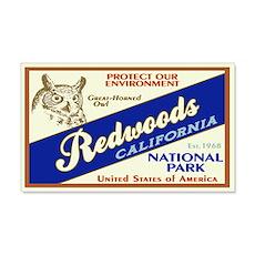 Redwoods (Owl) 20x12 Wall Peel