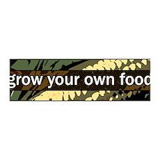 Grow Your Own Food 36x11 Wall Peel