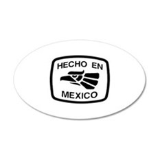 Hecho En Mexico - Made In Mex 20x12 Oval Wall Peel
