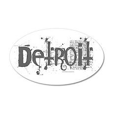 DETROIT CS 20x12 Oval Wall Peel