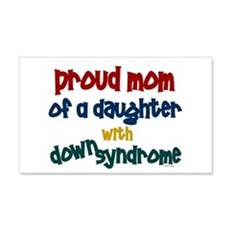 Proud Mom.....2 (Daughter DS) 20x12 Wall Peel