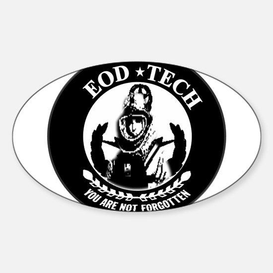 Remember EOD Sticker (Oval)