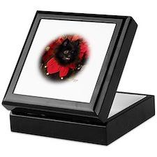Black Pomeranian Keepsake Box